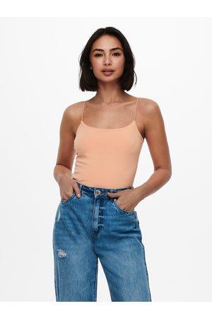 ONLY Ženy Body - Oranžové body Beckie