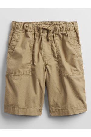 GAP Béžové klučičí dětské kraťasy pull-on shorts