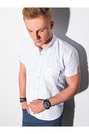 Ombre Clothing Pánská košile s krátkým rukávem K489