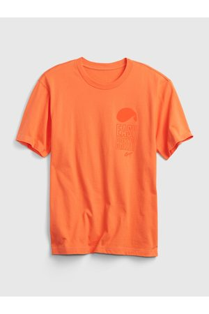 GAP Oranžové pánské tričko easy breezy t-shirt