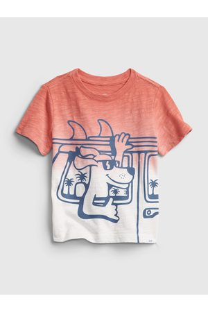 GAP Barevné klučičí dětské tričko short sleeve graphic t-shirt