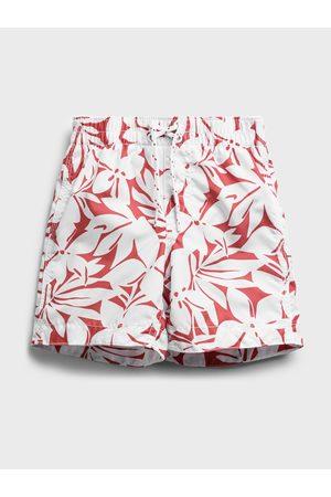 GAP Červené klučičí dětské plavky swim trunk