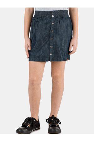 sam 73 Holčičí džínová sukně s knoflíky