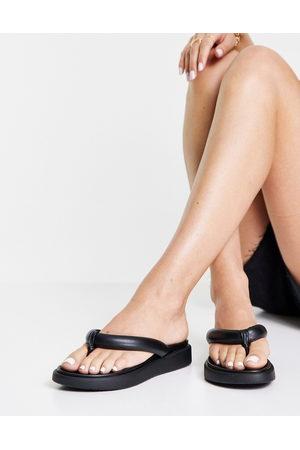 Topshop Ženy Sandály - Pharo Chunky Toe Post in Black