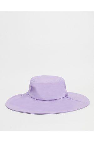 SVNX Ženy Klobouky - Nylon floppy hat in lilac-Purple