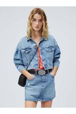 Pepe Jeans Ženy Džínové bundy - Dámská džínová bunda Ridge