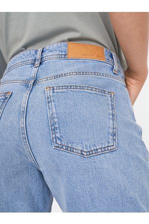 Noisy May Světle modré straight fit džíny Olivia