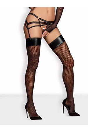 Obsessive Neuvěřitelné punčochy Darkie stocking - S/M