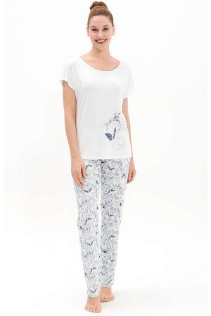 Blackspade Dámské pyžamo Butterfly Effect