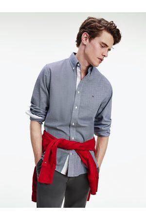 Tommy Hilfiger Pánská tmavě košile se vzorkem