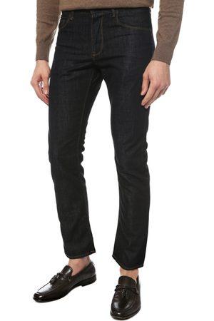 Tommy Hilfiger Pánské tmavě modré džíny Mercer