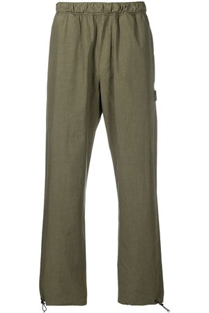 Palm Angels Elasticated drawstring-ankle trousers