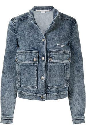 Stella McCartney Distressed-effect denim jacket