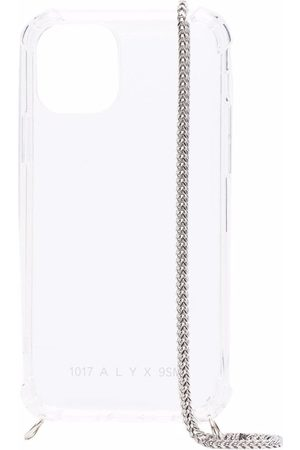 1017 ALYX 9SM Chain-link clear iPhone 12 case