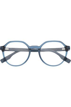 McQ MQ0306O round-frame glasses
