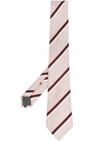 Brunello Cucinelli Striped silk tie