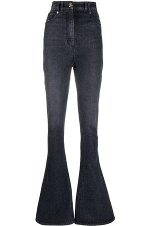 Balmain High-waisted bootcut jeans