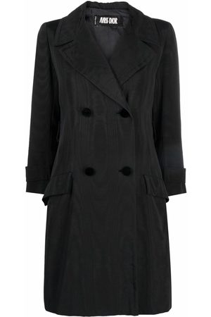 Dior 1970s pre-owned double-breasted trench coat