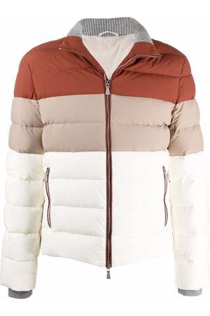 ELEVENTY Colour-block padded jacket