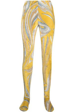 Emilio Pucci Vortici-print leggings