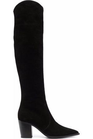 Gianvito Rossi Ženy Nad kolena - Over-the-knee pointed boots