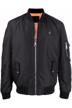Philipp Plein TM logo-print bomber jacket