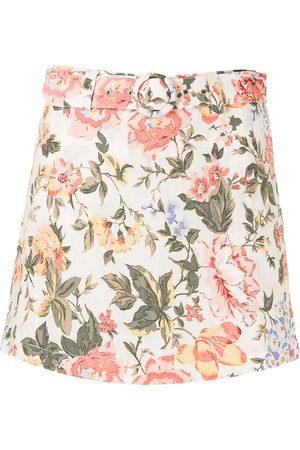 Faithfull the Brand Ženy Kraťasové - Floral-print belted skorts