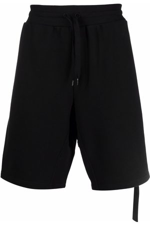 Moschino Side-zip detail track shorts