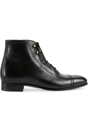 Gucci Brogue-detailed boots