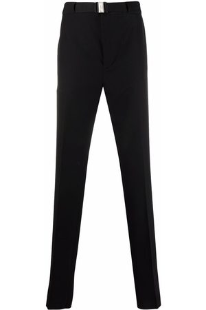 Givenchy Muži Rovné nohavice - Belted straight-leg trousers