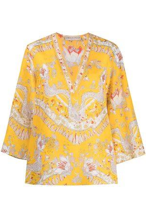 Emilio Pucci Abstract print cotton tunic