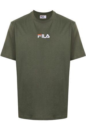 Fila Muži S krátkým rukávem - Logo-embroidered cotton T-shirt