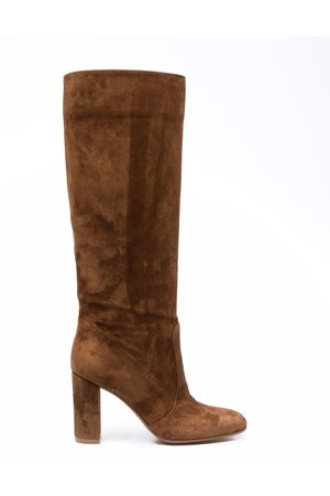 Gianvito Rossi Knee-length panelled boots