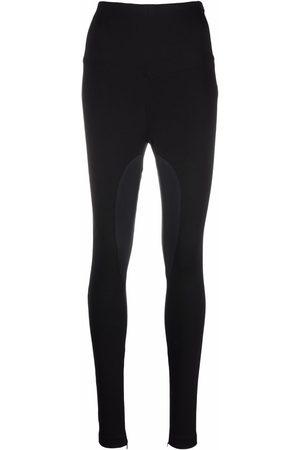 Philipp Plein Two-tone high-waisted leggings