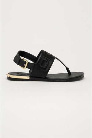 DKNY Kožené sandály
