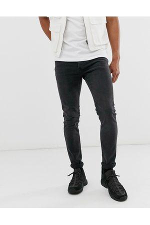 Topman Muži Skinny - Skinny jeans in washed black