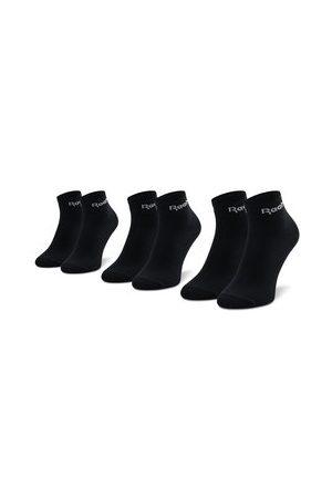Reebok Sada 3 párů nízkých ponožek unisex