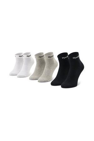 Reebok Ponožky - Sada 3 párů nízkých ponožek unisex