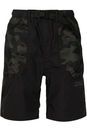 A Bathing Ape Camouflage-print track shorts