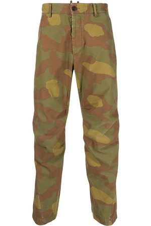 Dsquared2 Camouflage cargo trousers
