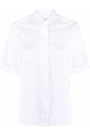 ELEVENTY Concealed-placket short sleeve shirt