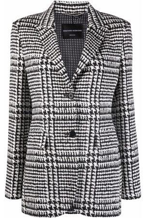 Ermanno Scervino Houndstooth-pattern blazer