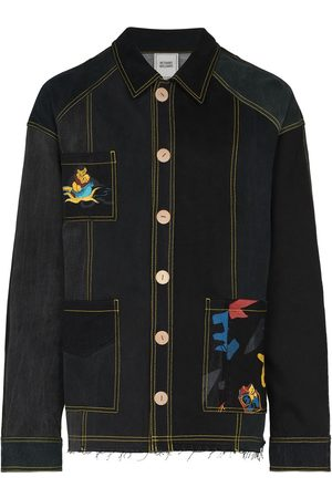Bethany Williams X The Magpie Project patchwork denim jacket