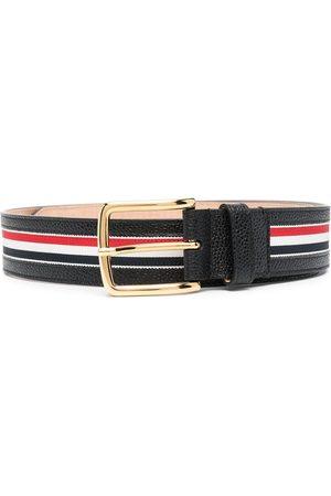 Thom Browne RWB stripe belt