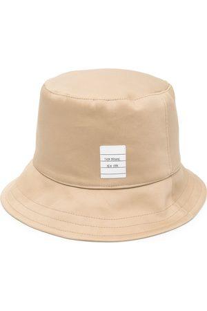 Thom Browne Logo-patch bucket hat