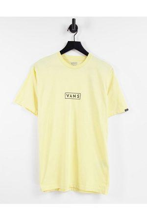 Vans Classic Easy Box t-shirt in yellow