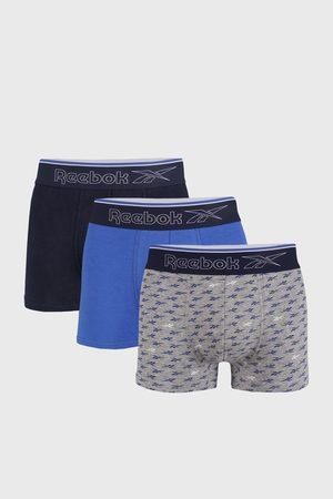 Reebok 3 PACK modrý boxerek Corey