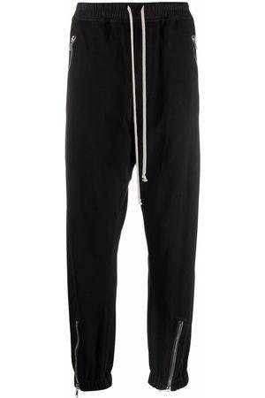 Rick Owens Muži Tepláky - Zip-detail track pants