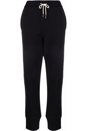 Jil Sander Tapered cotton track trousers