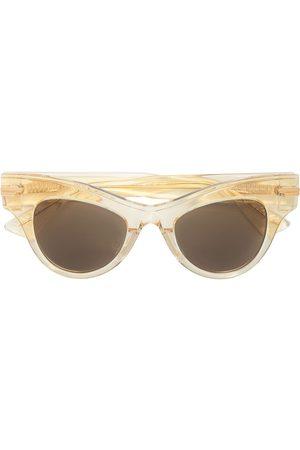 Bottega Veneta Transparent cat-eye frame sunglasses